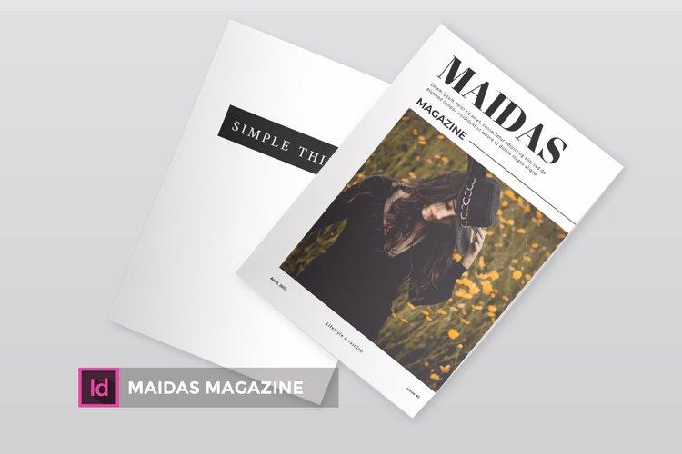 Maidas | Magazine example image 1