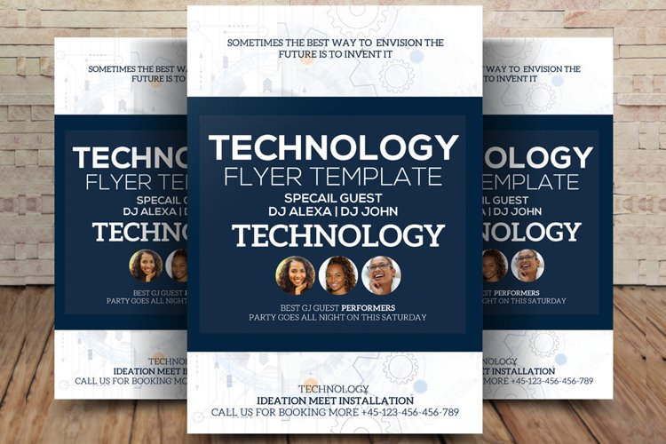 Technology Repair Flyer/Poster example image 1