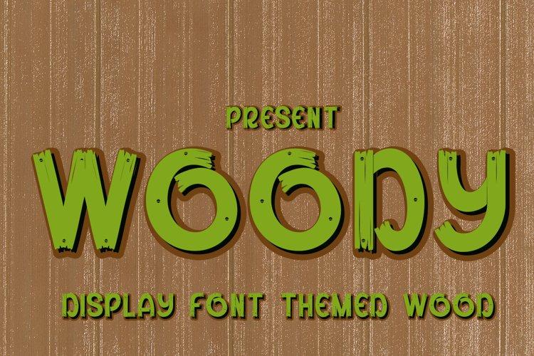 Woody example image 1