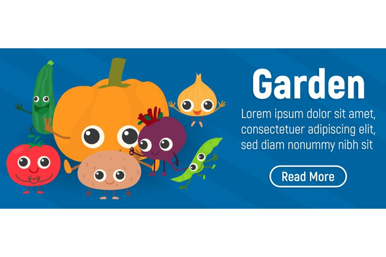 Garden concept banner, isometric style example image 1