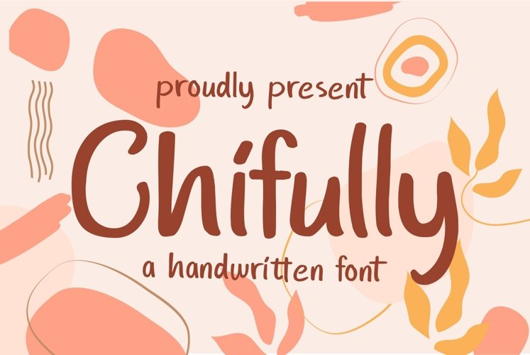 Chifully - Handwritten Fonts example image 1