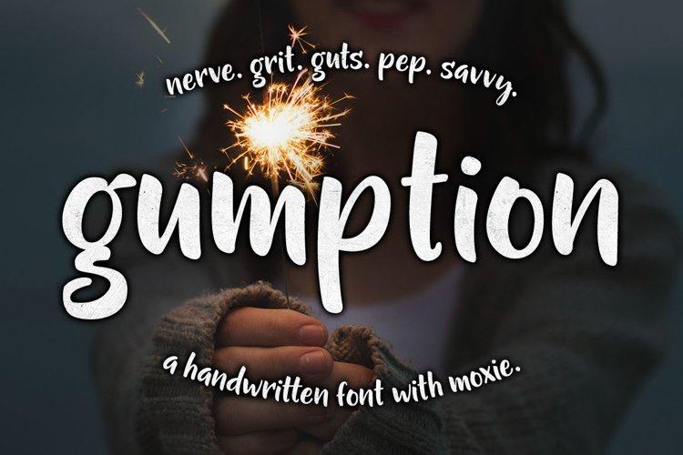 Gumption - sparkler girl header image
