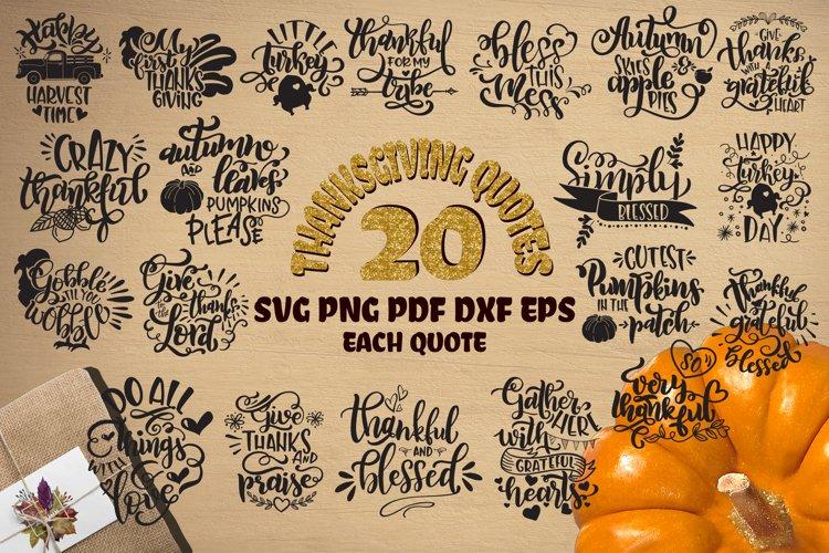 Thanksgiving bundle svg Gobble SVG Pumpkins svg Turkey example image 1