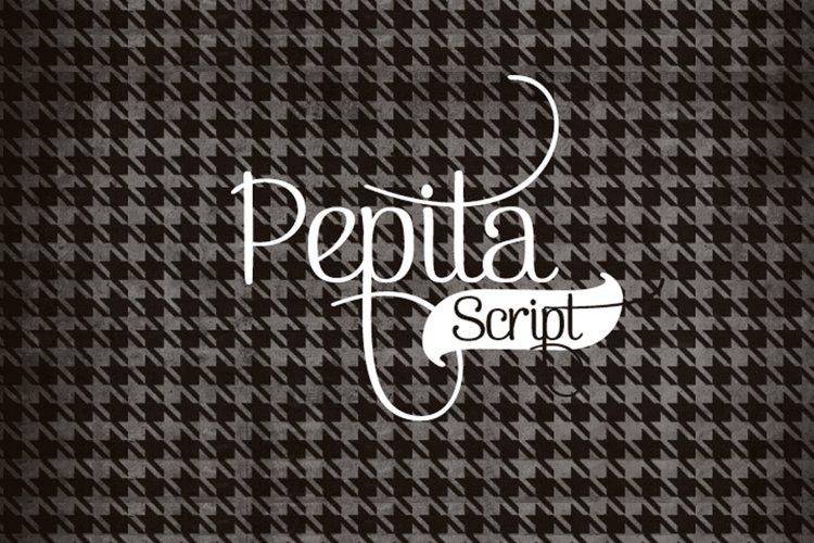 Pepita Script example image 1