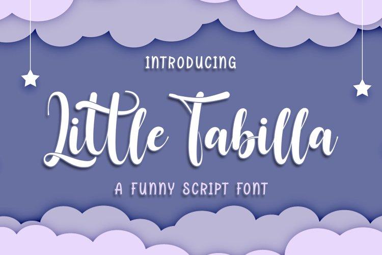 Little Tabilla example image 1