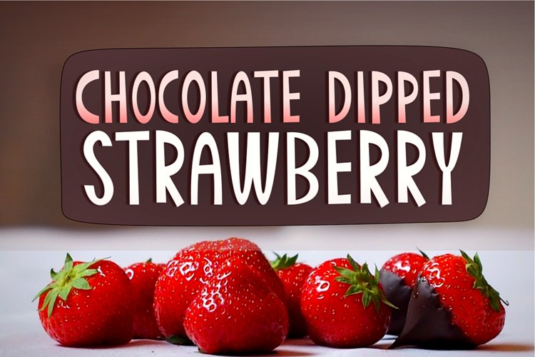 Chocolate Dipped Strawberry example image 1