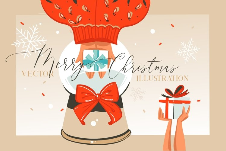 Merry Christmas illustrations example image 1