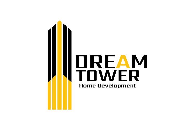 Construction logo, real estate Business Logo example image 1