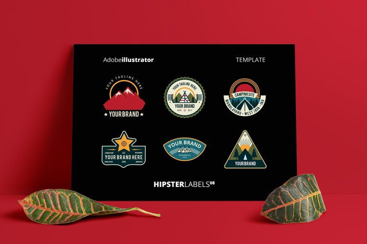 Hipsters Labels 08