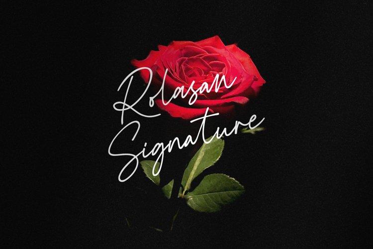 Rolasan Signature