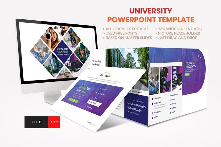 University - Education College Presentation Template example image 1