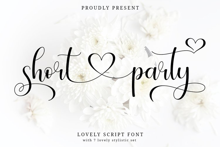 Short Party Lovely Script example image 1