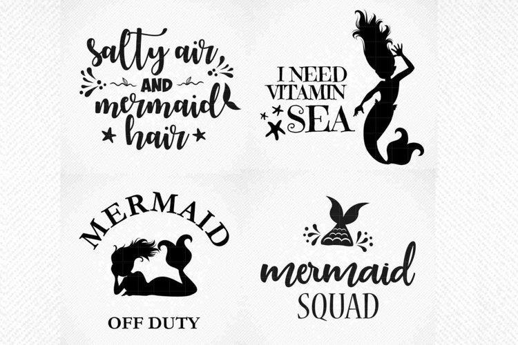 Mermaid Tshirt Quote Bundle, Summer Mermaid Quote Bundle