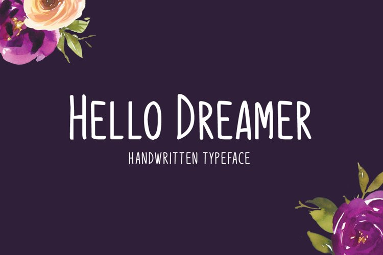 Hello Dreamer example image 1