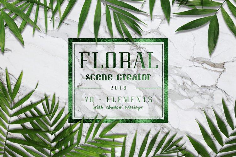 Floral Scene Generator #01 example image 1