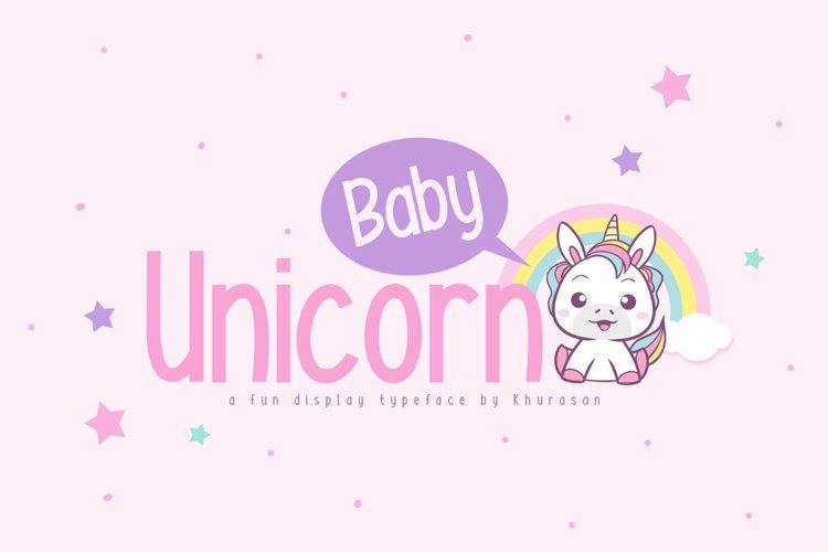 Baby Unicorn example image 1