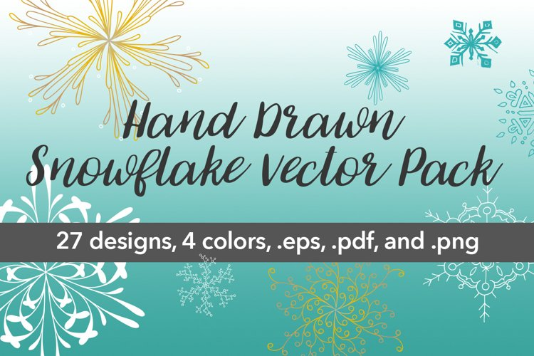 Snowflake Vector Pack