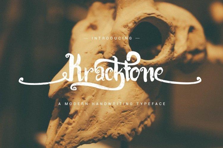 Kracktone Typeface example image 1