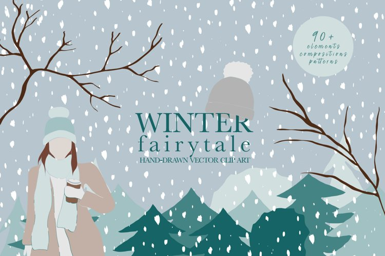 Winter / Holiday / Vector / Clip art example image 1