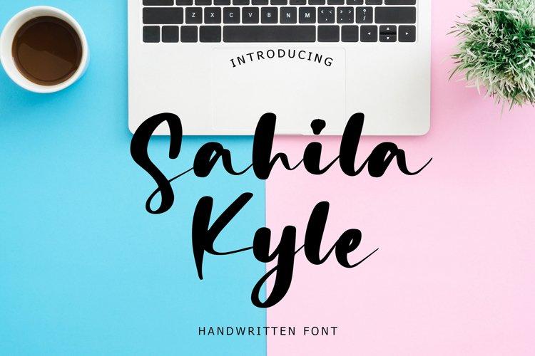 Sahila Kyle Handwritten Font example image 1