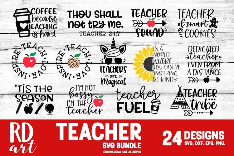 Teacher Bundle SVG, DXF, PNG, EPS