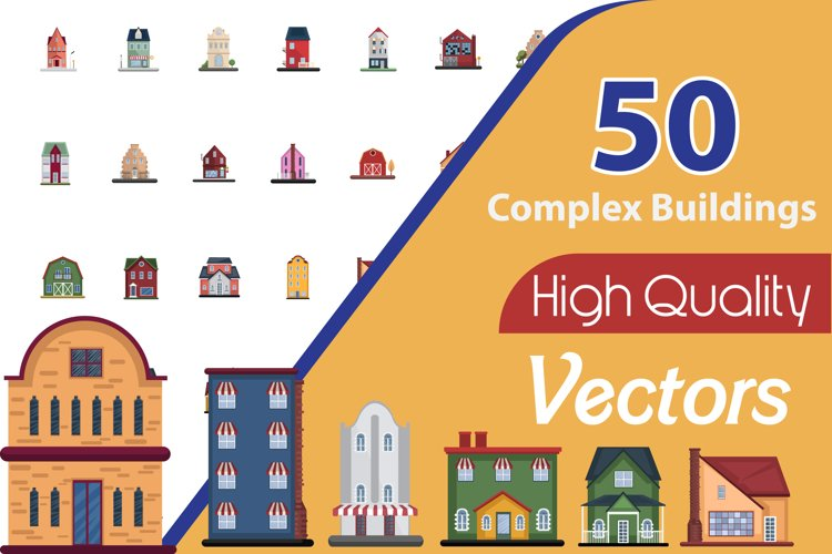 50X Complex Building illustration example image 1