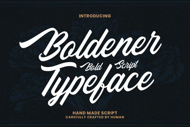 Web Font Boldener example image 1