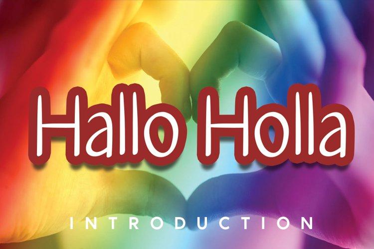 Hallo Holla example image 1