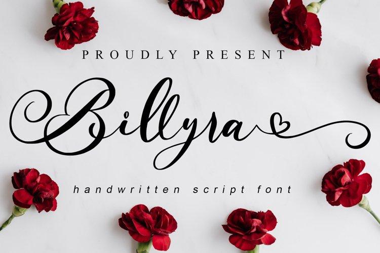 Billyra // Wedding Font - WEB FONT example image 1