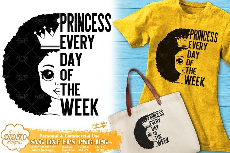 Black Girl SVG | Black Princess SVG | Black Lives Matter SVG