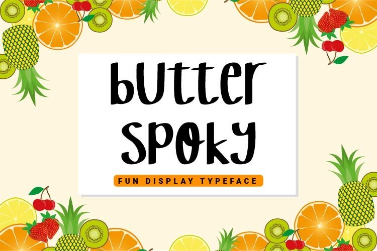 Butter Spoky example image 1
