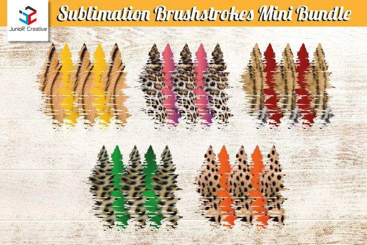 Sublimation Brush Stroke Mini Bundle