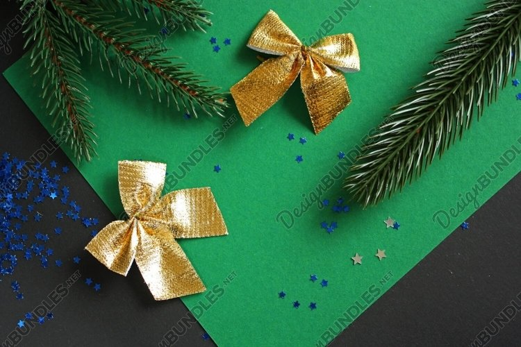 Festive Christmas And New Year Backgrounds example image 1