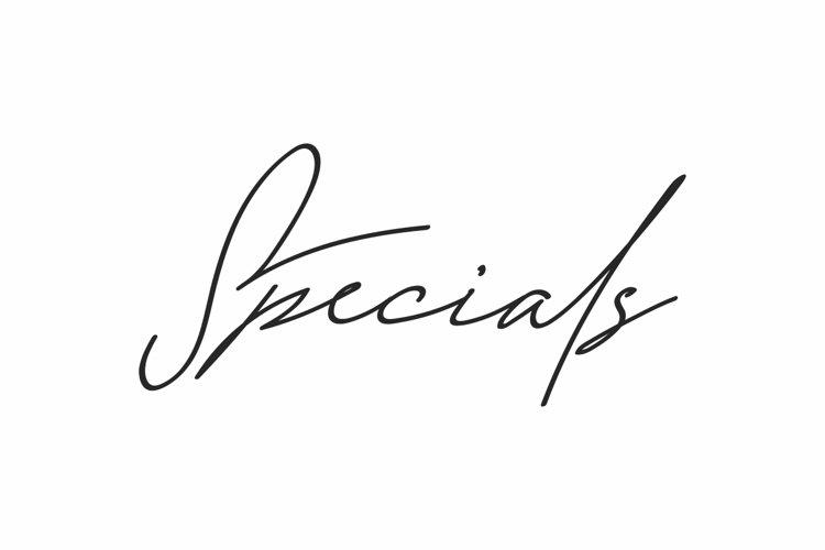 Specials example image 1