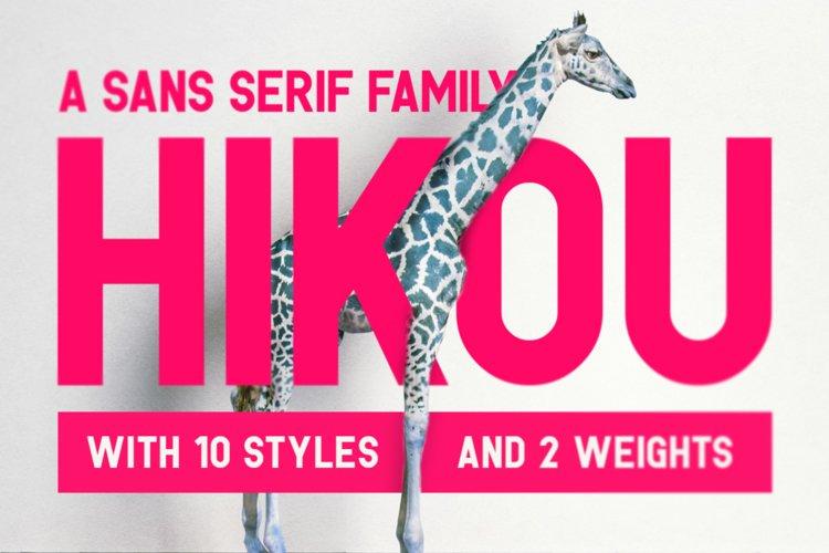 Hikou Typeface example image 1
