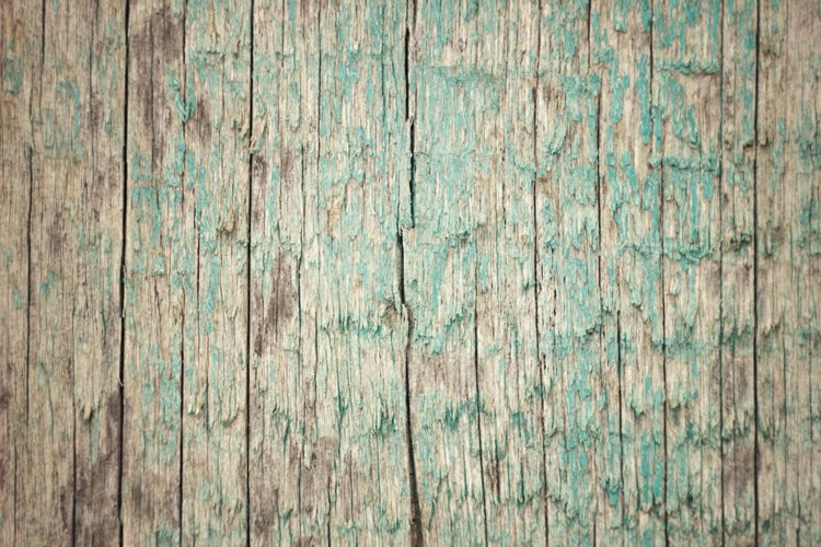 texture of old cracked wood plank, close up, natural texture example image 1