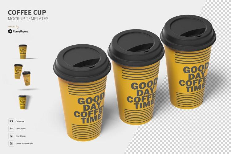 Coffee Cup Mockups vol. 01