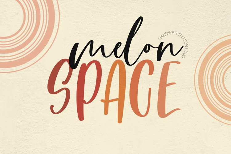 Melon Space Font Duo