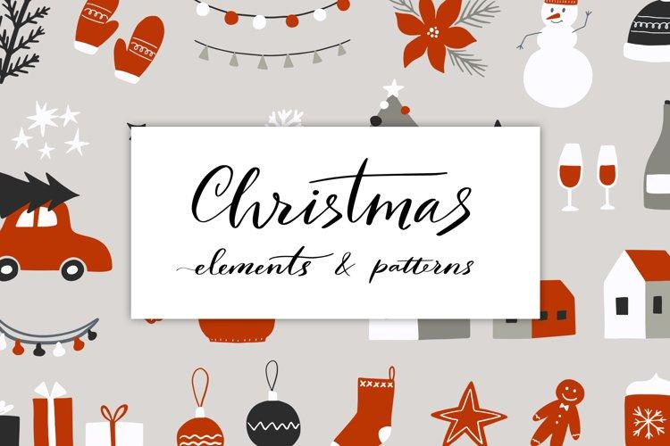 Christmas Elements & Patterns