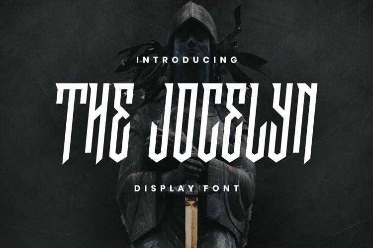 Web Font The Jocelyn Font example image 1