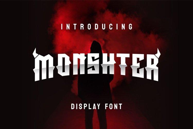 MONSHTER example image 1