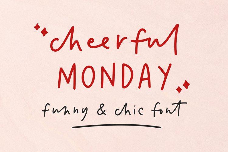 cheerful Monday example image 1