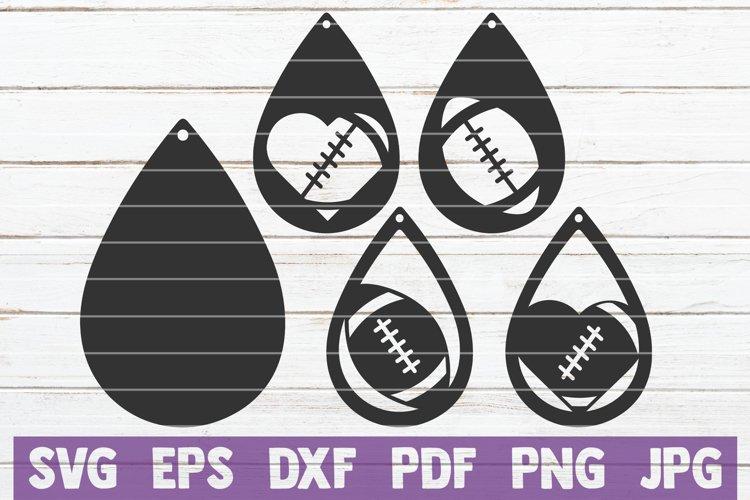 Football Earrings example image 1