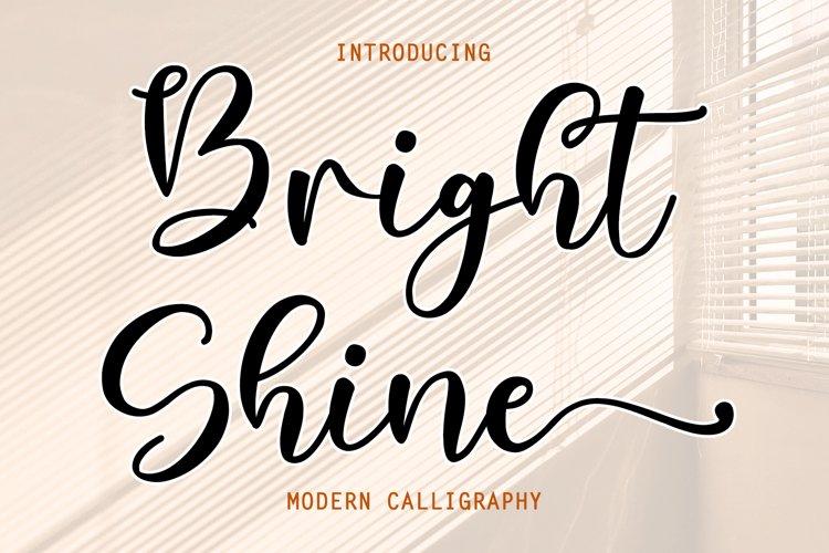 Bright Shine example image 1