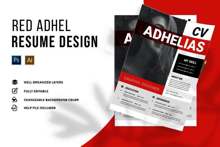 Red Adhel | CV & Resume example image 1