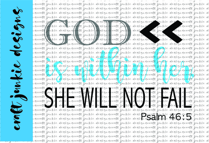 God Is Within SVG example image 1