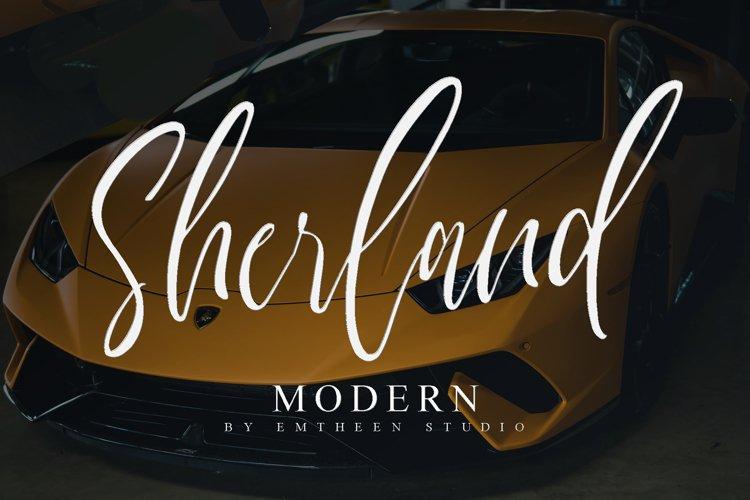 Sherland Modern example image 1
