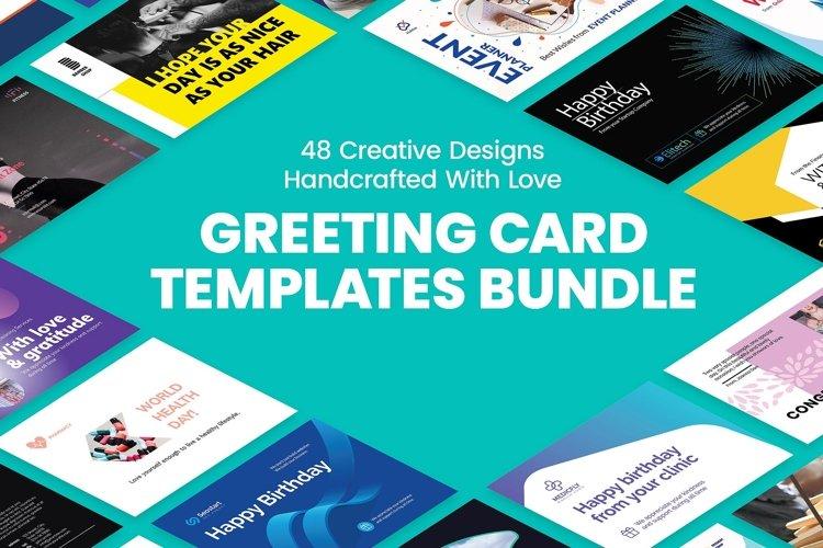 Greeting Card Template Bundle SALE