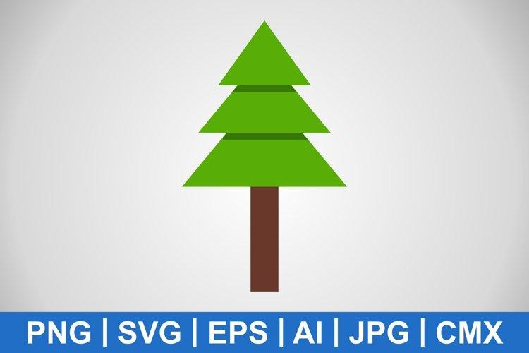 Vector Pine Tree Icon example image 1