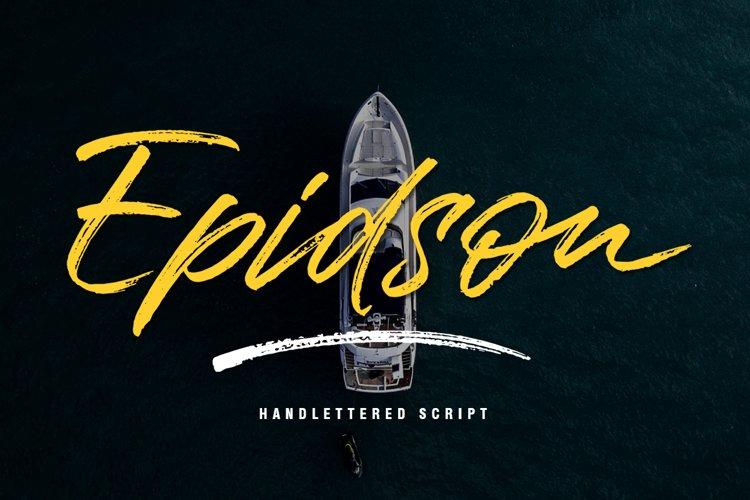 Epidson Script example image 1